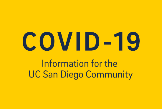 Covid-19 info for UCSD community